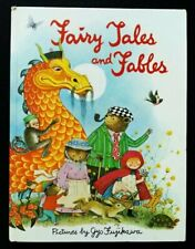 FAIRY TALES AND FABLES  Gyo Fujikawa ~ Vintage 1979 Children's Large Glossy Book