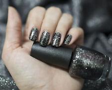 Opi Nail Polish Nl N15 Metallic 4 Life, 0.5floz, Black and Silver nail lacquer