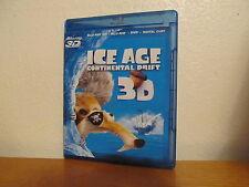 Ice Age: Continental Drift 3D - 3D Blu Ray / 2D Blu Ray / DVD - No code