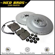 Genuine Mini F55 F56 F57 JCW Front Brake Kit Inc Discs Pads & Wear Sensor 335x30