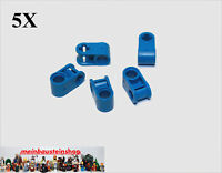 5X Lego® 6536 Technic Achs Verbinder Connector 2 Fach Orange NEU Pin