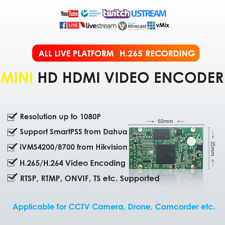 H.265/H.264 Mini HDMI Video Encoder Drone/IPTV/Camcorder RTMP/TS Live Broadcast