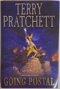 Terry Pratchett Going Postal Signed First Edition hardback discworld