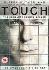 Touch: Complete Season 2 - DVD NEW & SEALED (3 Discs) Kiefer Sutherland
