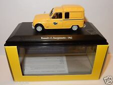 NOREV RENAULT 4 L 4L FOURGONNETTE 1962 POSTES POSTE PTT 1/43 IN LUXE BOX