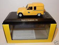 NOREV RENAULT 4 L 4L FURGONETA 1962 POSTES CENTRO DE CONTROL PTT 1/43 EN LUJO