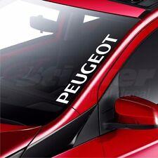 Peugeot Car Windscreen Sticker 206 207 307 308 408 Rear Window Bumper Decal