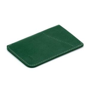 Bellroy Card Sleeve Racing Green -