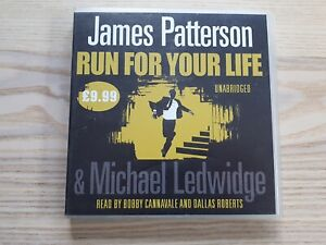 Run for You Life James Patterson 6-Disc CD Audiobook Unabridged