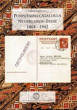 Stempelcatalogus Nederlands-Indië catalogue cancellations Dutch Indies Stempel