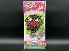 "Dimensions Shopkins 12"" x 12"" Latch Hook Kit, Strawberry Kiss"