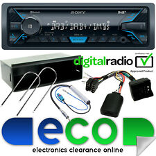 Citroen Berlingo 2008 On SONY Bluetooth DAB Radio Car Stereo Steering Wheel Kit