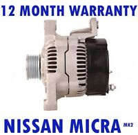 Nissan micra mk2 mk II (K11) 1.0 1.3 16V hatchback 1992 - 2000 alternator