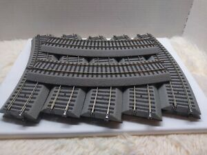 American flyer s 40 full curve lot of 12