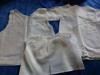 lot 3piéces ,poupon ,poupée des ans 50,fond de robe ,brassiére,corsage