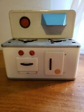 Vintage 1950s Efzet Metal Kitchen Stove Tin Toy