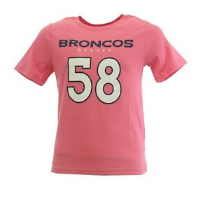 Denver Broncos Von Miller NFL Apparel Kids Youth Girls Size T-Shirt New With Tag