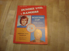 Away Teams C-E Dundee Final Football Programmes