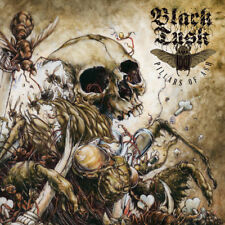 Black Tusk - Pillars of Ash - Green/gold colored vinyl - Stoner metal