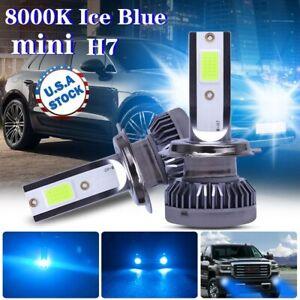 FOG LIGHT ICE BLUE 8000K H7 LED Headlight Low Beam Conversion Kit Driving Light
