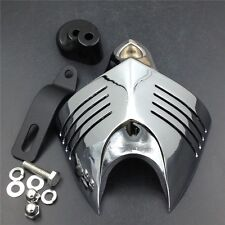 Chrome  Twin Horn Cover Cowbell For 1992-2014 Harley Davidson Motorcycles