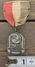 1940 Spencer Amateur Sports Club Running High Jump Medal Sterling Silver