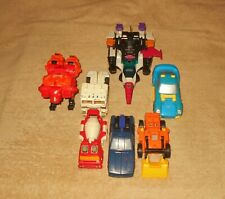 Vintage G1 Transformers Lot   1980's  Hasbro   Old Toy Figures