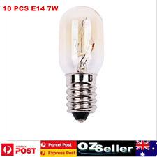 10 x E14 7W Salt Lamp Globe Bulb Oven Light Bulbs Heat Resisting 300℃ 220V/240V