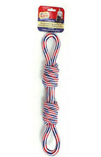 "Ethical Pets America's Vet 15"" Double Loop Tug Patriotic Dog Toy"