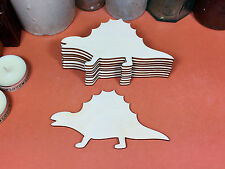 De Madera Dimetrodon Dinosaurio formas 12 Cm (X10) Láser de corte de madera forma artesanía Blanks