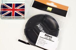 GENUINE ORIGINAL NIKON LC-82 82mm PINCH TYPE LENS CAP FITS TAMRON 500MM REFLEX
