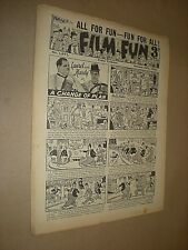 FILM FUN. BRITISH COMIC. SINGLE ISSUE . JAN 26 1952. No. 1671