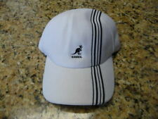Nice!! Brand New Kangol Henley Stripe Space cap white blue large L NWT hat NWT