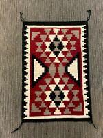 """Navajo Rug, Ganado, Cloud Motif  c. 1980; 35"""" x 23"""" Excellent Condition"""
