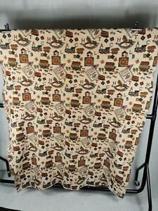 Giant Baby Vintage 70s 80s Boys Girls Blanket Throw Nursery Tapestry Floor 50x78