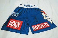 Manny Pacquiao signed Boxing Trunks WBC World Champion Philippines * Div Champ