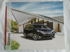 Toyota Sienna brochure 2013 USA market