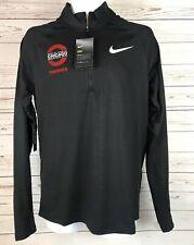 Nike Chicago Running Finisher 1/4 Zip Black 933335-010 Dri-Fit Mens Size Xl $80