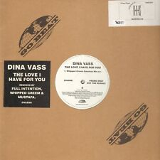 Dina Vass – The Love Oui For You - Go! Beat – DVASSB - Uk 2001
