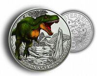 Österreich 3 Euro 2020 T-Rex Tyrannosaurus Super-Saurier Münze