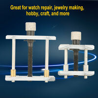 2 In 1 Reversible Wrist Watch Case Repair Tool Movement Holder Kit Vice Clamp