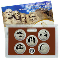 (1) 2013 United States Mint Proof Quarter Set in Original Box