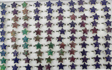 55pcs Star Style Wholesale Lots Change Color Mood Ring Fashion Jewelry AH398