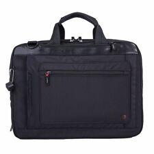 Hedgren Mens Zeppelin Bag -Explit 3 in 1 Backpack Briefcase - Black