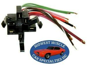 Ignition Start Switch Plug Socket Repair Wiring Harness Dash Key 66-67 GM D52