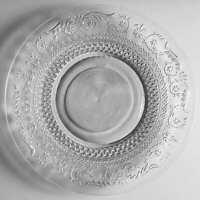 Crystal Clear Industries TRELLIS Dinner Plate 7808327