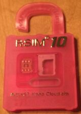 R-Sim 10 Card for iOs 8.x iPhone 4S 5 5S 5C 6 plus 2G 3G 4G Lte Rsim Nano Cloud