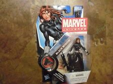 "Rare Marvel Universe Avengers Sexy Black Widow Super Hero 4"" Figure New Unopened"