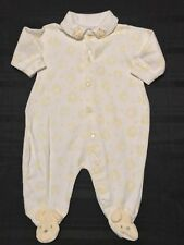 Just Born Baby Boy closed feet Sleeper 0-3M