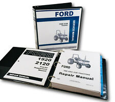 Ford New Holland 1920 2120 Tractor Service Repair Manual Shop With Supplement